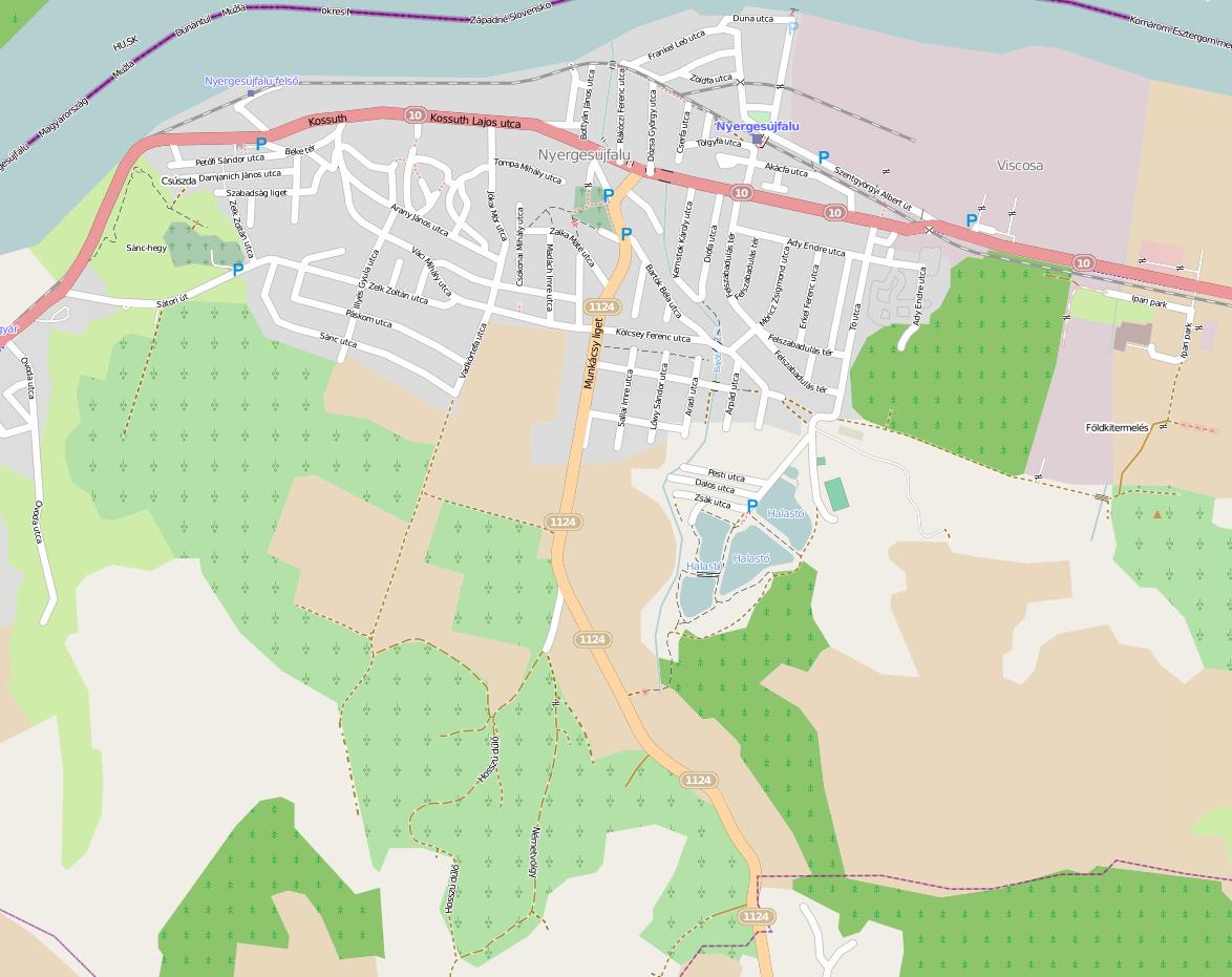 Teljes utcatérkép látható