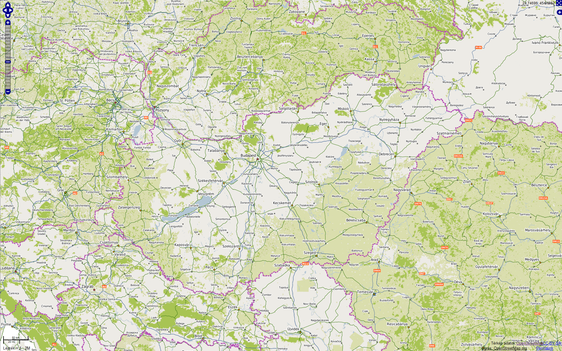 magyarország térkép frissítés OpenStreetMap térképek letöltése magyarország térkép frissítés